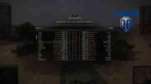 Загрузочный экран перед боем с установленным XVM Lite