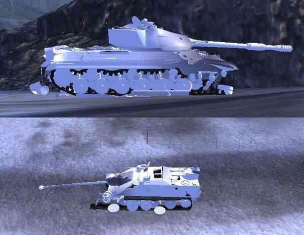 Трупы танков — это мод для world of tanks