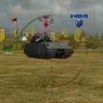 Стандартный прицел с таймером перезарядки для World of Tanks 0.9.17