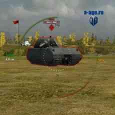 Прицел с таймером перезарядки для World of Tanks