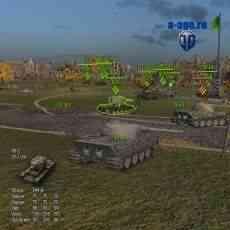 Информационная панель для World of Tanks