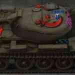 Штриховые шкурки с зонами пробития от Lemon96 для World of Tanks 0.9.16