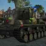 Damage stickers - цветовые пробития для World of Tanks 0.9.16 *