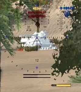 Мод на белые остовы уничтоженных танков в сборке модов от ProTanki