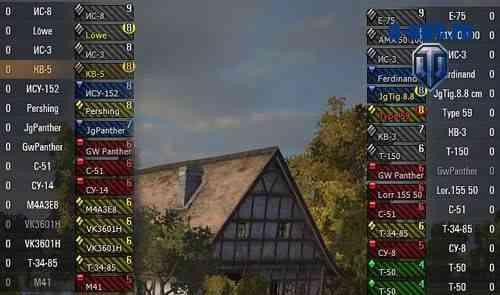 Цветные иконки танков для WoT