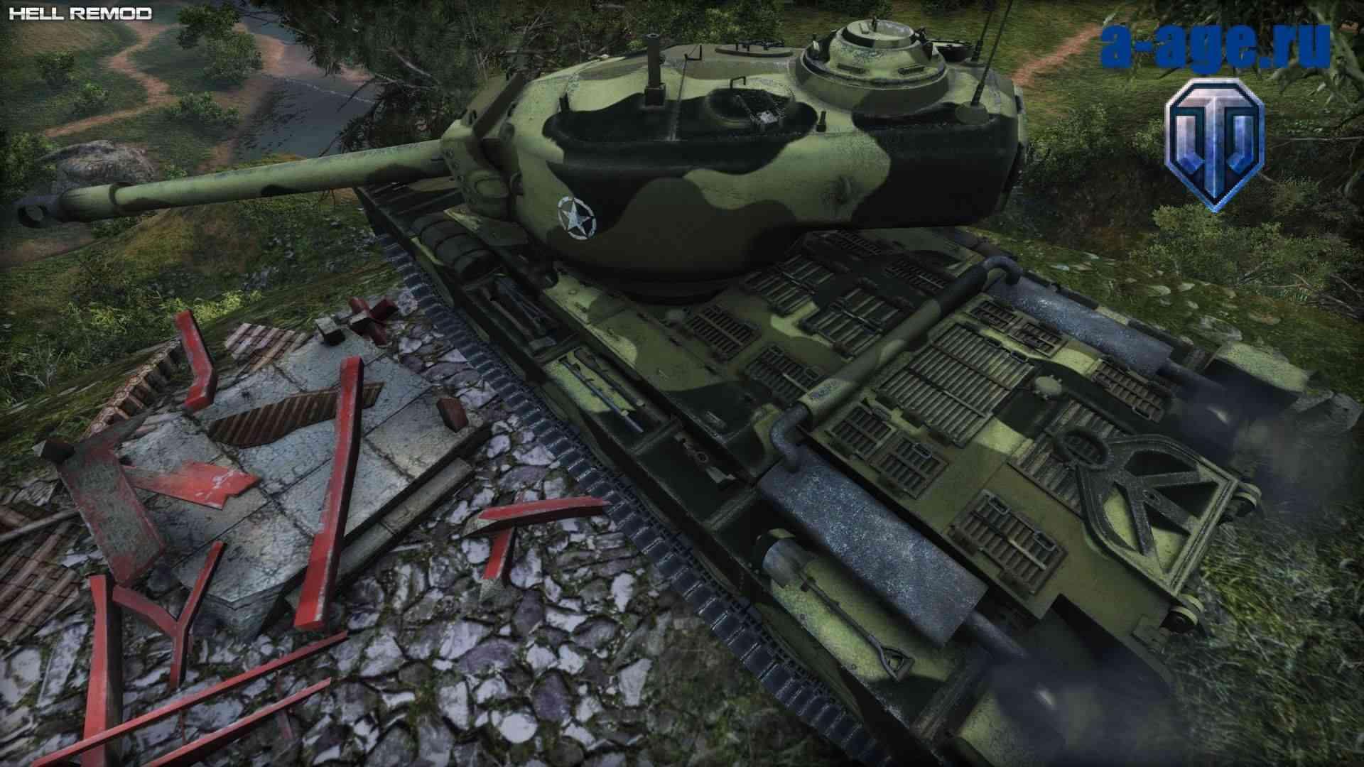 Скриншот ремоделинга Т34
