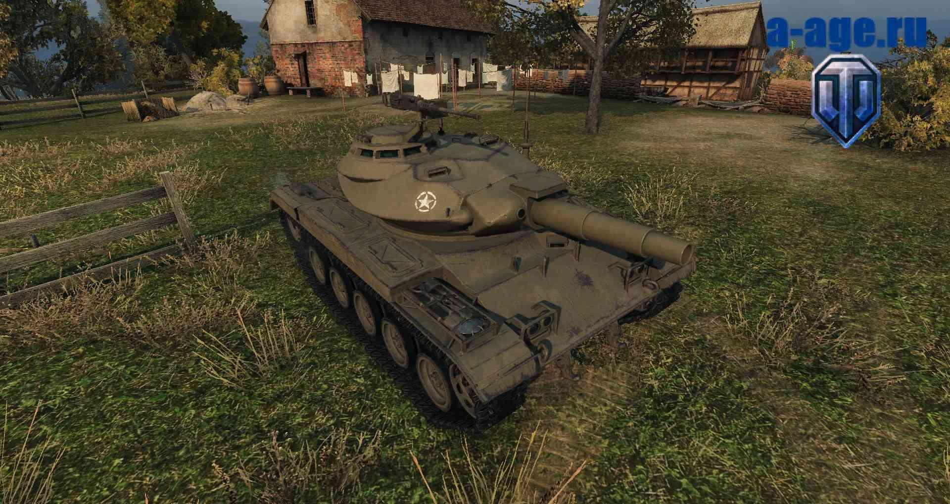 Новый легкий танк США Т49