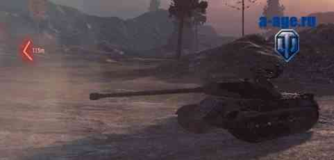 Индикатор направления ближайшего танка World of Tanks