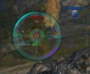 Прицел от Valuhov в снайперском режиме