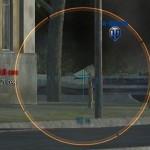 Прицел Blue Light для World of Tanks 0.9.16 *