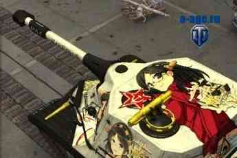аниме шкурки танков