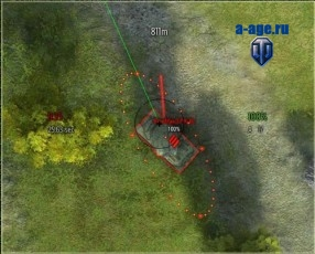 Арт-прицел для World of Tanks