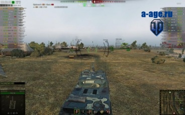 Прицел от Slava7572 для World of Tanks
