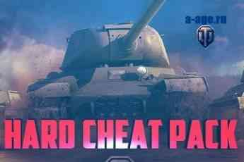 Логотип HARD cheat mod pack