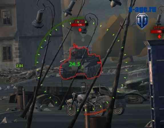 Демонстрация работы индикатора бронепробития