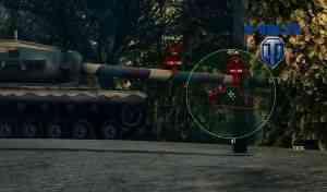 Прицел от Johniq для World of Tanks