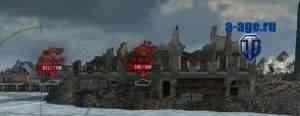 постоянная обводка контуров танков wot