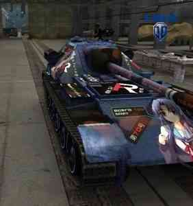 Текстуры танков в стиле аниме