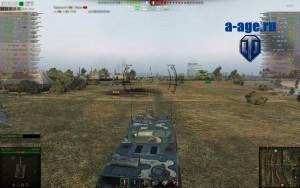 Прицел от Slava7572 для World of Tanks