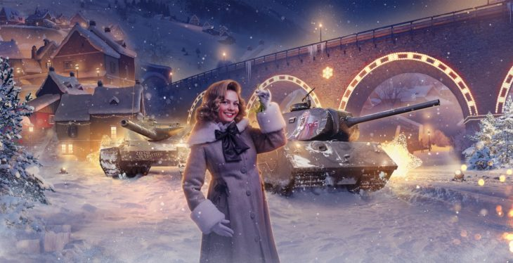23 набор Twitch Prime «Омела» (Prime Gaming Charm Collection) WoT, январь 2021